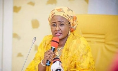 Aisha throws fresh bomb, says 2 powerful men hindering Buhari's efforts to perform
