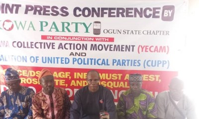 CERTIFICATE SCANDAL: KOWA, CUPP, join growing calls for disqualification of Ogun APC gov candidate