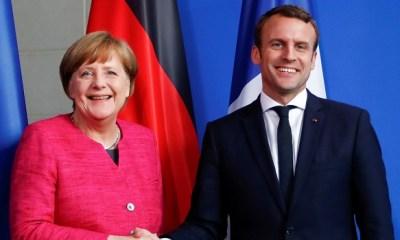 Macron, Merkel demand release of 24 Ukranian sailors captured by Russian troops