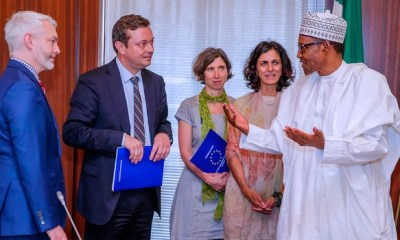 'I am impressed,' Buhari tells European Union INEC is ready for credible polls