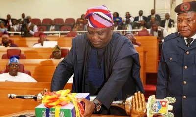 Finally, Ambode presents N852bn budget to Assembly