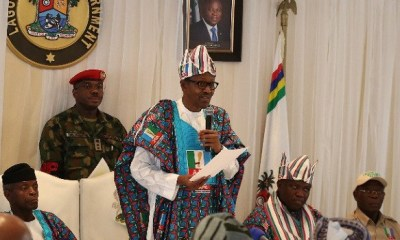 Buhari boasts of economic policies, says they're on point