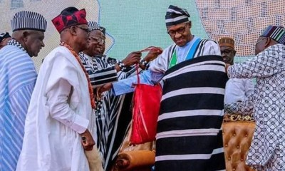 'Benue belongs to Buhari..he can do whatever he wants'- Ortom