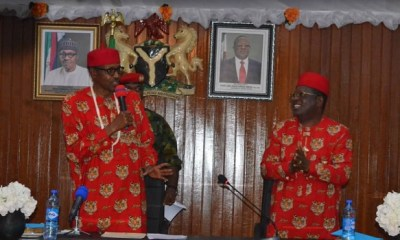 Buhari will 'definitely' have more votes in the South-East in 2019 than he did in 2015- Umahi