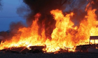 Fire destroys houses, shops in Calabar
