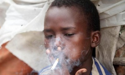 Alarming! At least 25,000 kids between 10-14yrs smoke tobacco everyday