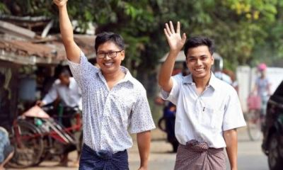Reuters journalists regain freedom after over 500 days in Myanmar prison