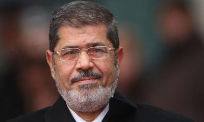 Egypt's embattled president, Morsi dies during trial