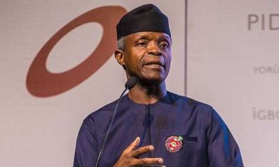 Osinbajo to youths: Integrity is your most valuable collateral