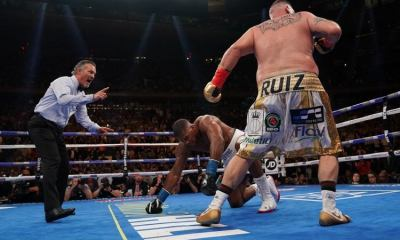 BOXING: Andy Ruiz dethrones Anthony Joshua in miserable loss