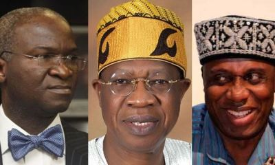 NEXT LEVEL CABINET: See the 43 'wise men' Buhari has chosen