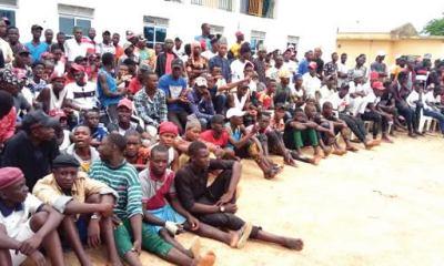 500 'Sara Suka' thugs disarm in Bauchi