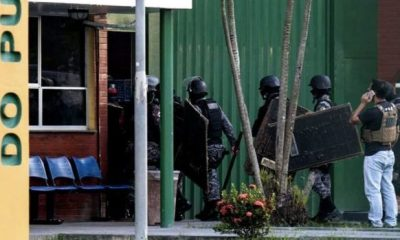 BRAZIL: 57 inmates feared dead after outbreak of bloody clash between prison crime groups