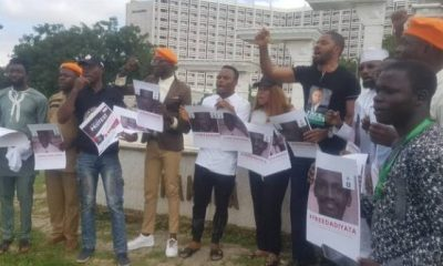 Despite huge deployment of security agents, protesters demand Sowore's release