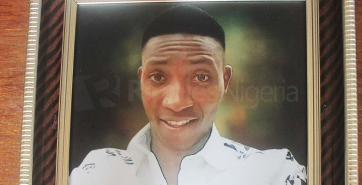 Christian Onuoha, 22, was killed by a trigger-happy policeman few meters away from his family house. Photo by Patrick Egwu.