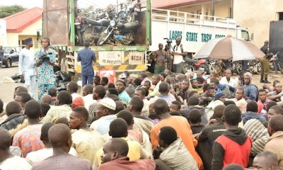 Lagos-Taskforce-Intercepts-Truck-With-123-Men-48-Bikes-Coming-From-Northern-StatePhotosVideo