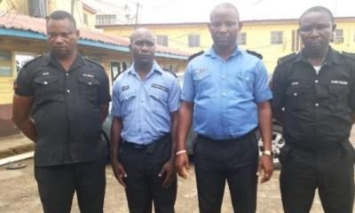 Police dismisses four officers