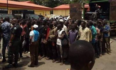 Lagos Taskforce arrests 123 men, bikes from Jigawa