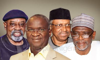 Buhari's ministers all matter...but see why these 4 have the biggest headache