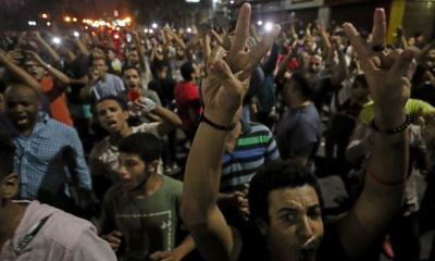 EGYPT: 500 people arrested in rare anti-govt protests