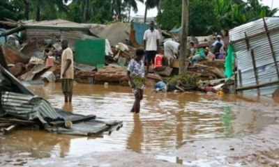 28 victims feared dead, many injured, 1,000 houses destroyed as torrential rains hit Ghana