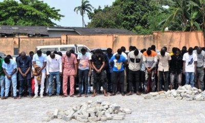 EFCC nabs 94 suspected fraudsters at Osun nightclub
