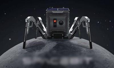UK sends a robot to explore moon