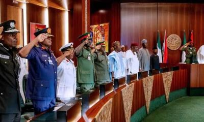 Hunt down bandits, other criminals, Buhari charges security agents