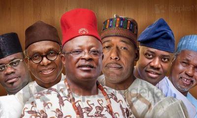 RANKING NIGERIAN GOVERNORS, OCTOBER, 2019: Top 5, Bottom 5