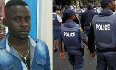 South African police constable convicted for murder of Nigerian