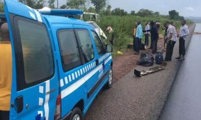 3 people feared dead in ghastly auto crash along Mokwa-Bida road