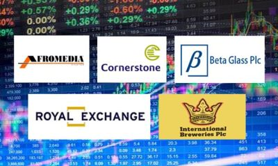 Royal Exchange, Cornerstone, Int'l Breweries top Ripples Nigeria Stock watchlist
