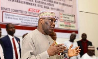 Atiku advocates punishment for govs who divert funds allocated to education