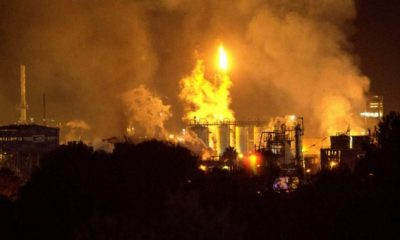 1 dead, 8 injured in petrochemical blast in northern Spain