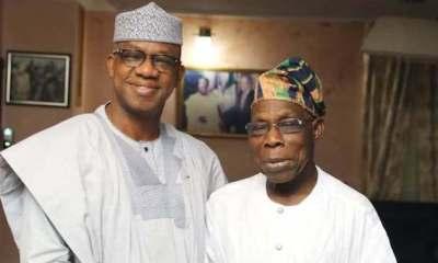 Obasanjo with Gov Abiodun