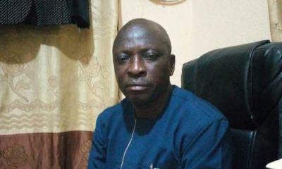 SARS operative slumps, dies in office