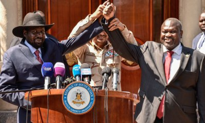 COALITION GOVT: At last! South Sudan's rival leaders strike unity deal