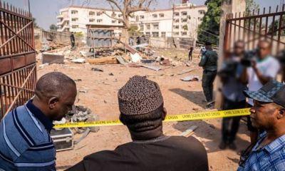 Police building within Ekiti Govt Secretariat destroyed by bomb blast