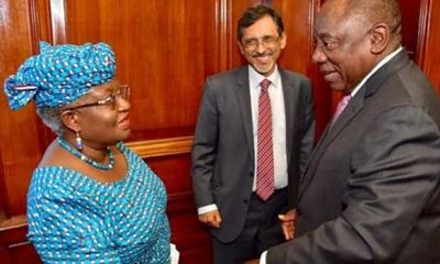 South Africa appoints Nigeria's Okonjo-Iweala to lift country out of recession