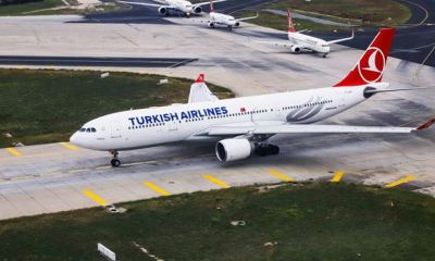 CORONAVIRUS: Turkish Airlines suspends flights to Nigeria