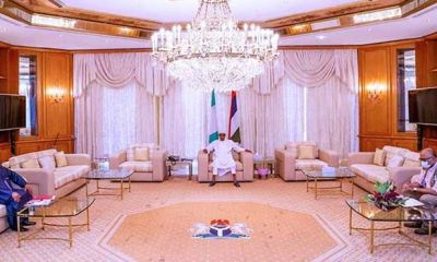Buhari meets Health minister, NCDC boss in Aso Rock