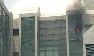 Fire guts Corporate Affairs Commission headquarters, Abuja