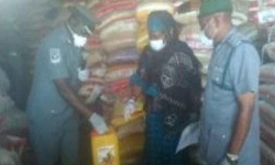 PALLIATIVES: Anambra, Sokoto, Nasarawa receive 5,400 bags of rice from FG
