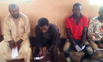 OLAKUNRIN'S MURDER: Police arraign four suspects