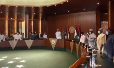 Buhari attends factional APC NEC meeting