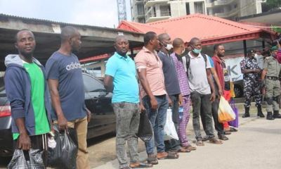 Nine suspected Illegal oil dealers arraigned, granted N10m bail each