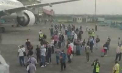 Passenger, cargo planes collide at MMIA, Lagos