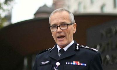 Police officer suspended in UK after kneeling on a black man's neck