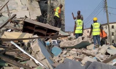 One dead, six rescued, others trapped in Lagos collapsed building