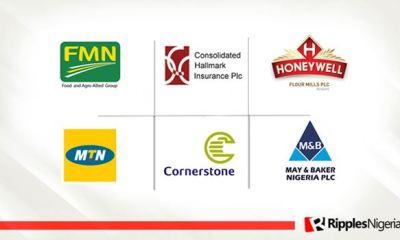Flour Mills, Cornerstone, Consolidated Hallmark top Ripples Nigeria stocks watchlist